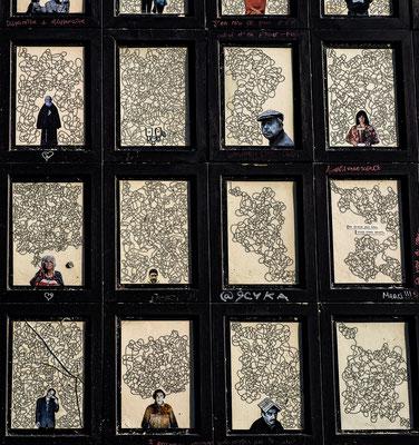 Pariser Strassen Klein Kunst