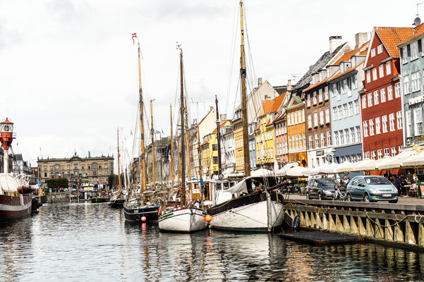 Nyhavn/ Kopenhagen