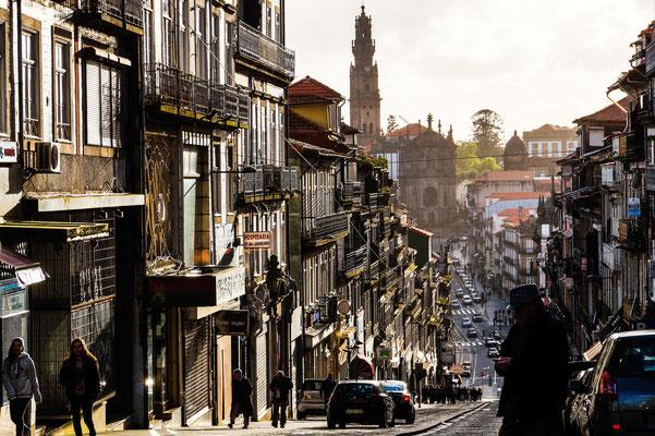 Straßenszene in Porto