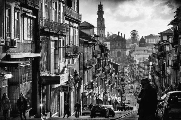 Strassenszene in Porto