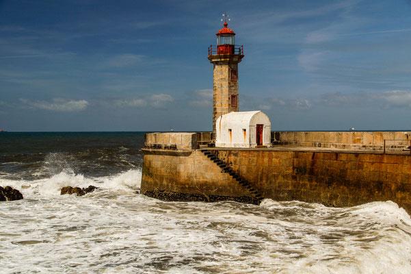 Leuchtturm bei Porto