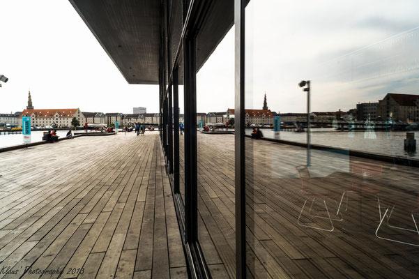 Am Kopenhagener Hafen