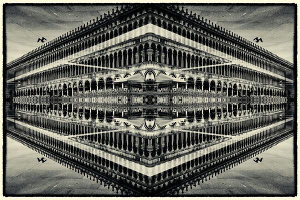 Dogenpalast gespiegelt