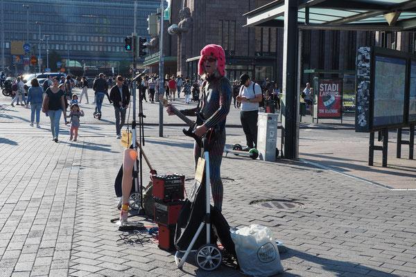 Street Music in Helsinki