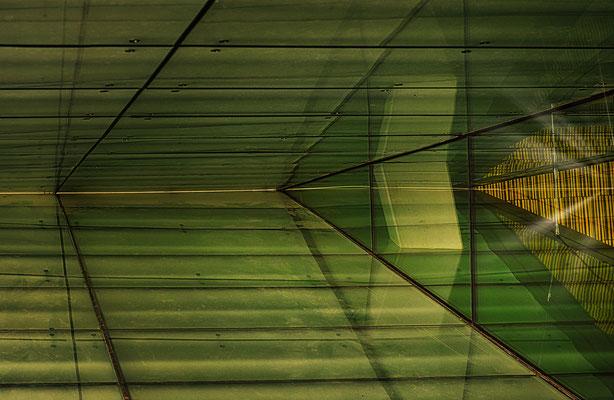 Spiegelungen an der Osloer Oper
