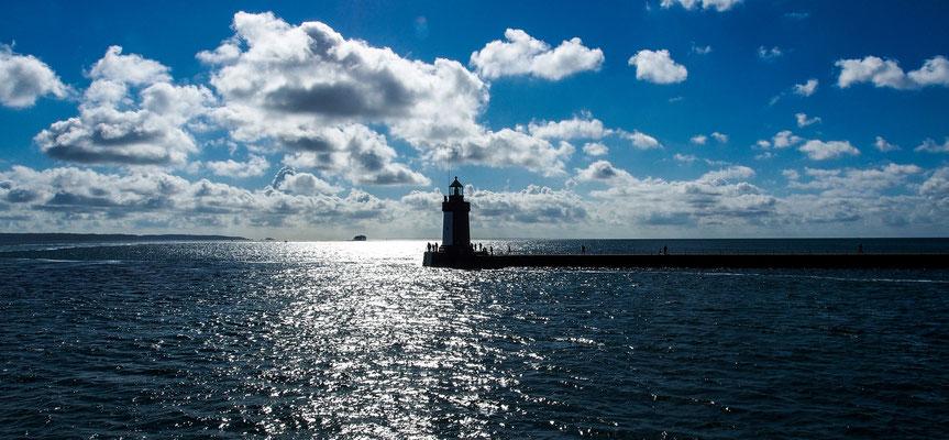 Hafeneinfahrt St.Peter Port/Guernsey