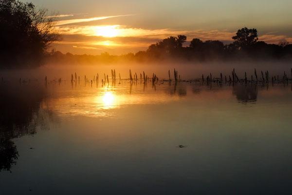 Sonnenaufgang am Fermasee