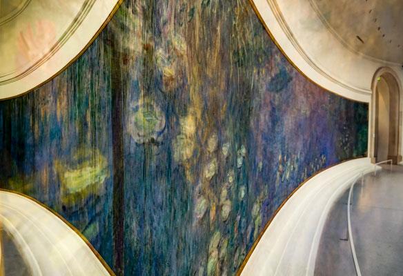 "Les Nympheas de Monet/""Überlagert"""