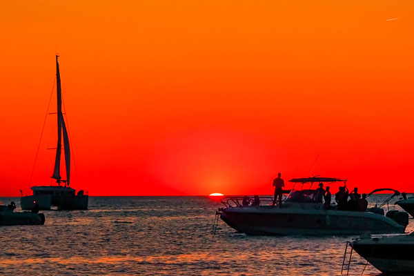 Sunset am Cafe del Mar/Ibiza