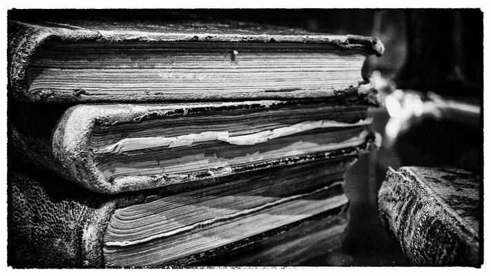 Antike Bücher aus der fürstlichen Grabkapelle/Karlsruhe