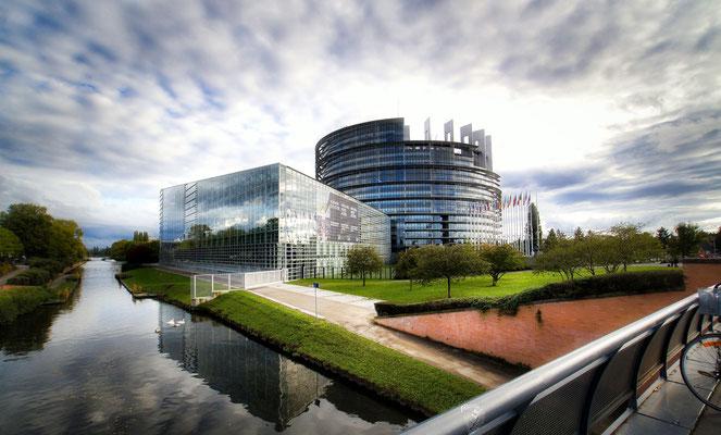 Europaparlament in Strasbourg