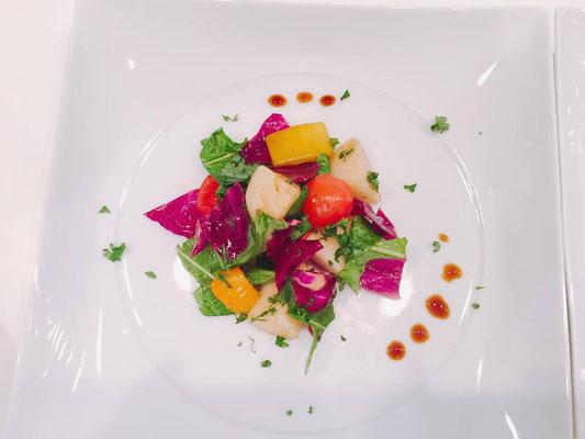 ◆洋なしとカラフル野菜のバルサミコマリネ