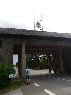 Am Eingang