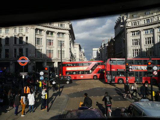 ... kreuz und quer durch London...