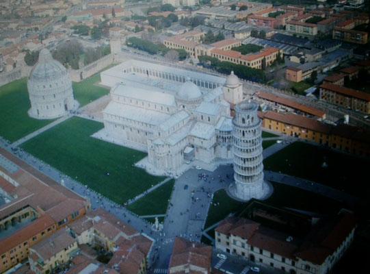 Luftbildaufnahme des Geländes