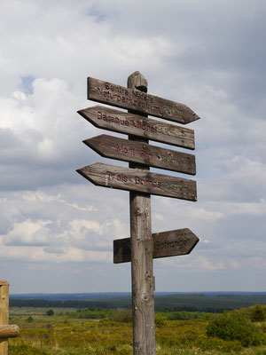 Richtungs-, Entfernungs- und Ortsangaben