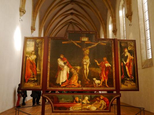 Der Retabel (Altaraufsatz)...