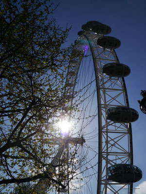 ... direkt unter'm London Eye