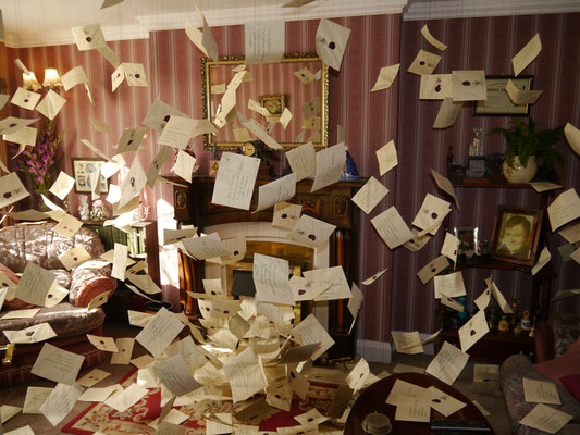 Die hunderte von Briefen aus Hogwarts an Harry