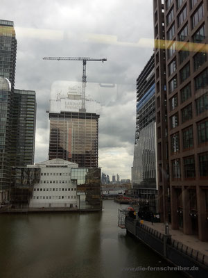 Durch die Docklands...