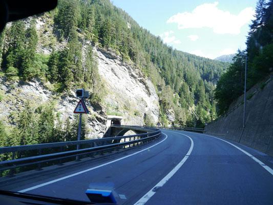 Viadukte und Tunnels en masse