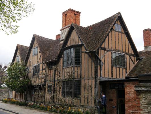 Hall's Croft - Das Haus von Dr. John Hall und seiner Frau Susanna, einer Tochter Shakespeares