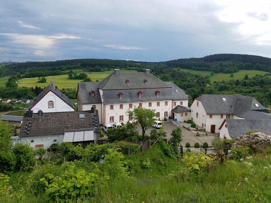 Blick auf das Schlosshotel