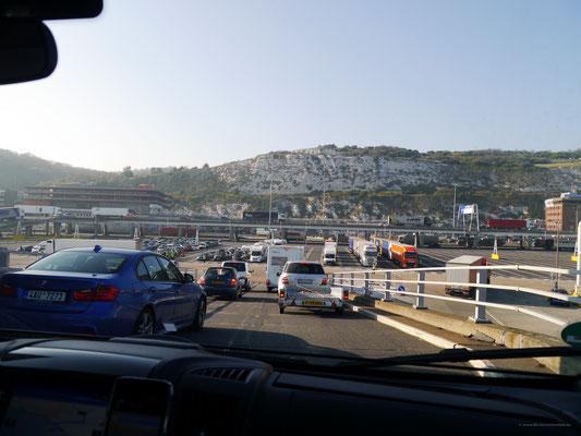 Der Hafen von Dover ist erreicht