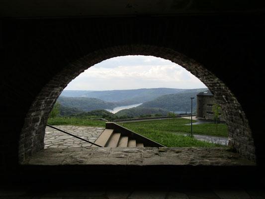 nochmal Aussicht von der Burgschänke
