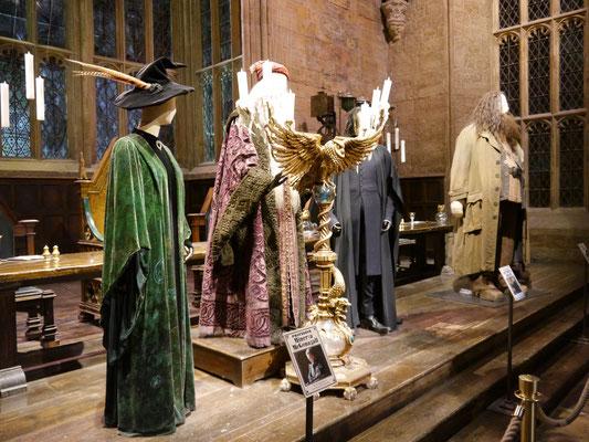Dumbledore in der Mitte