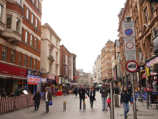 Fußgängerzone am Leicester Square