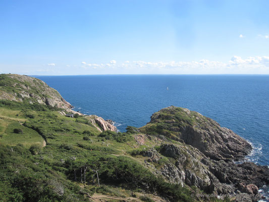 Echtes Panorama auf dem Kullaberg