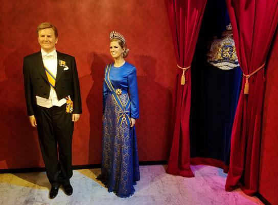 heutiges Königspaar Willem-Alexander und Máxima