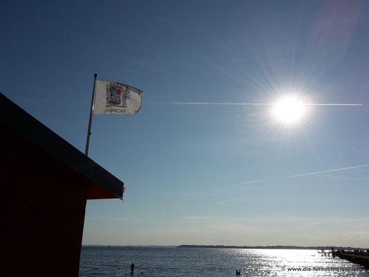 Provinzflagge von Landskrona am Strand