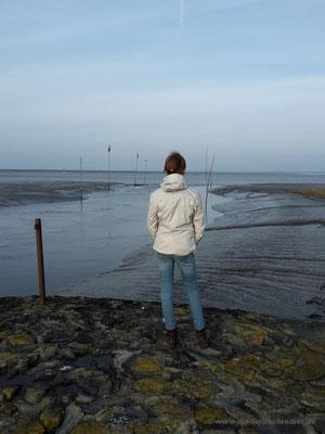 Verträumter Blick aufs Meer