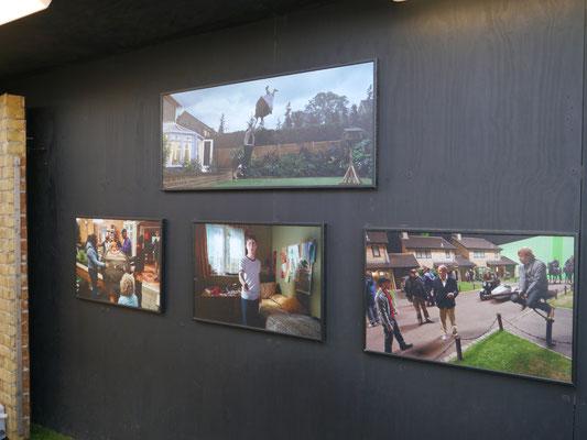 Bilder von den Filmaufnahmen um Privet Drive herum