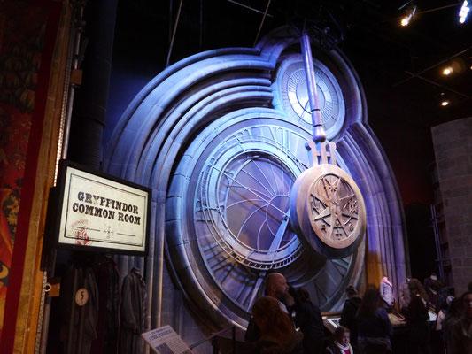 Die große Uhr von Hogwarts