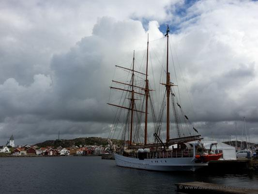 Dreimaster als Hochzeitsschiff