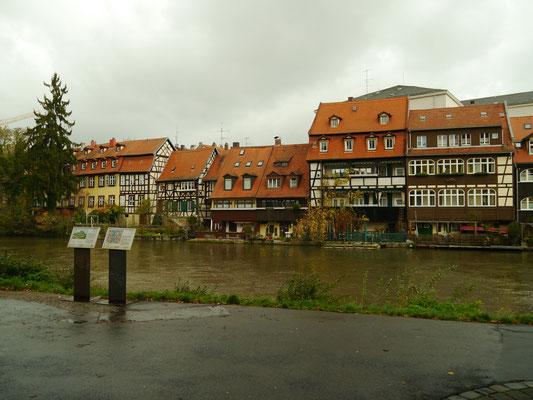 """Am Ufer der Regnitz: """"Klein-Venedig"""""""