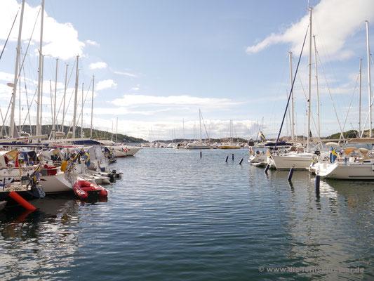 Yachthafen von Fjällbacka