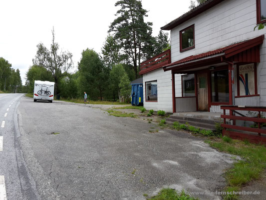 Grenzübergang Holtet (Norwegen) / Vassbotten (Schweden)