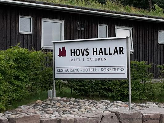 Hovs Hallar - Nähe Parkplatz