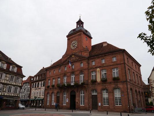 Das Rathaus von Wissembourg