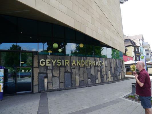 Eingang zum Erlebniszentrum