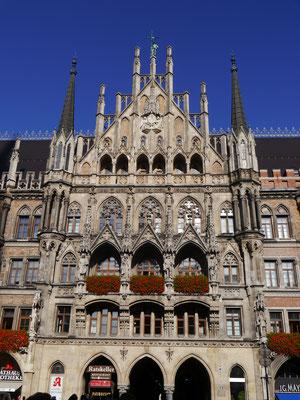 Portal des Neuen Rathauses