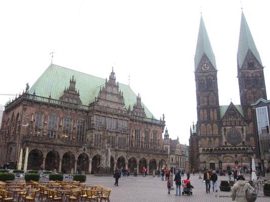 Rathaus und St. Petri Dom Bremen