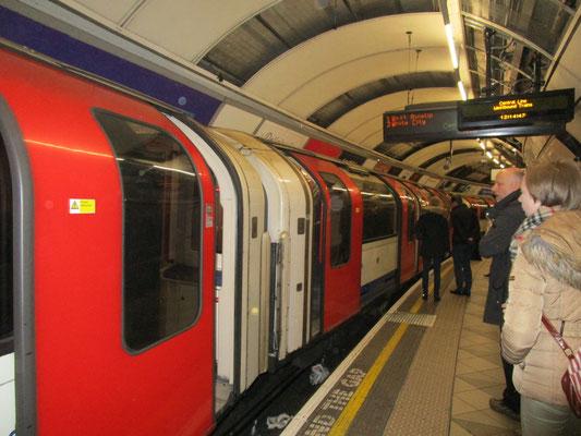 Tube der central line