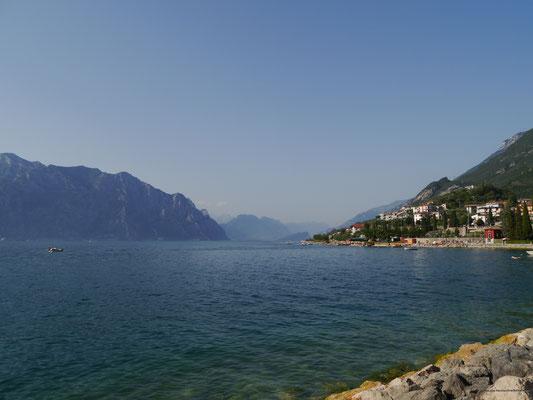 Tolle Aussicht über den See