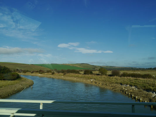 Überquerung des Flusses Cuckmere