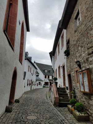 Rückblick auf unserem Weg über den Burgbering